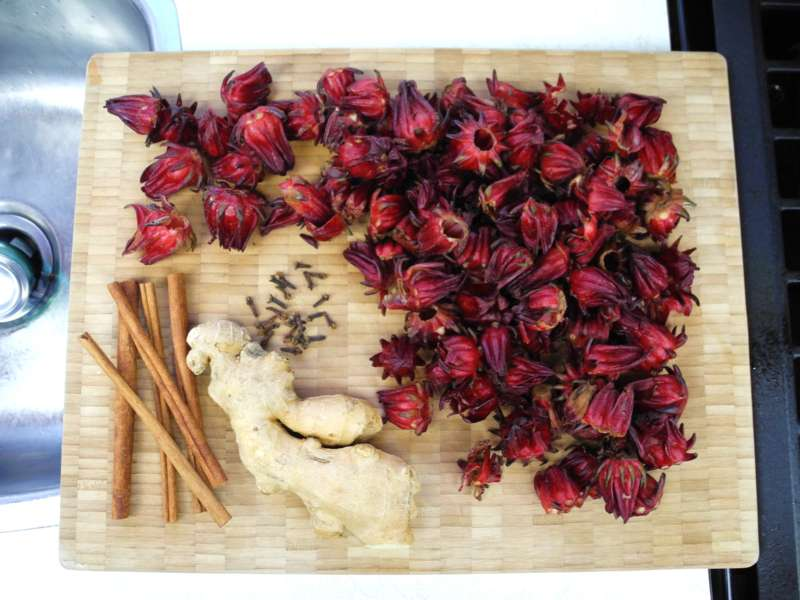 Sorrel, ginger and spices are must-haves for Jamaicans at Christmas. Photo: CaribbeanPot