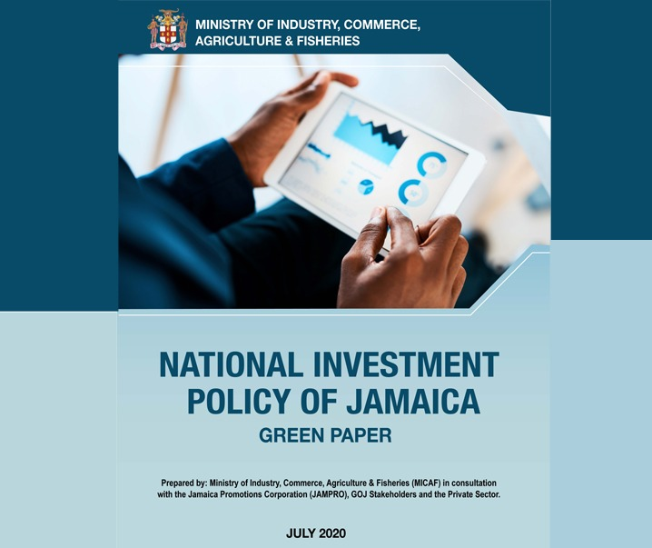 NATIONAL INVESTMENT POLICY OF JAMAICA