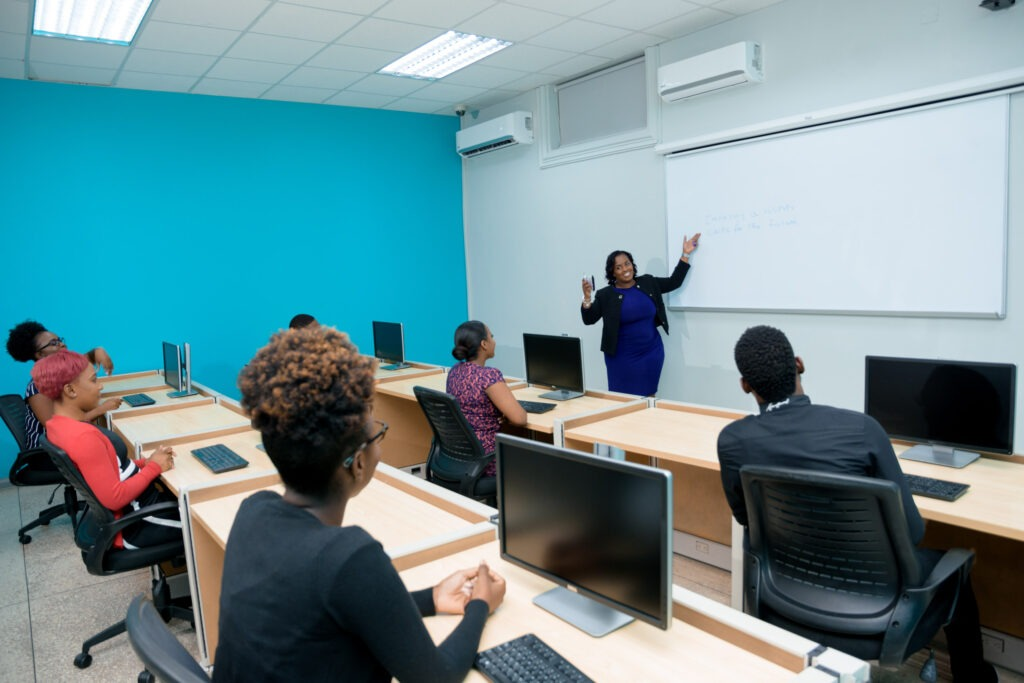 Adult students in Classroom