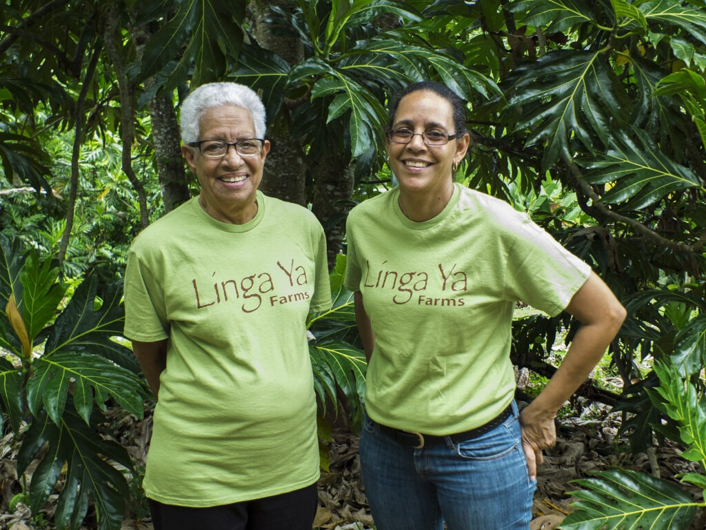 Mother and daughter business owners